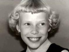 Joni Mitchell as a child