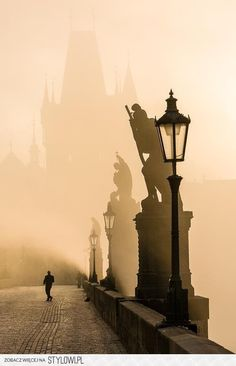 Charles Bridge, Prague - one of my favourite places I visited in Europe :) Places To Travel, Places To See, Places Around The World, Around The Worlds, Beautiful World, Beautiful Places, Beautiful Streets, Amazing Places, Pont Charles