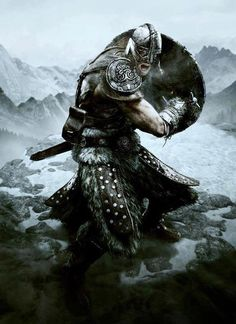 come on... we all know he is from skyrim, I mean just look at the armor, he is definitely wearing a steel helmet and hide armor.