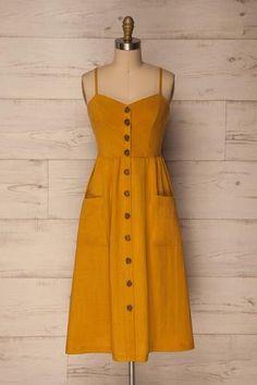 Nikki Womens Size 12 Yellow Pull On Aline Skirt Women's Clothing Skirts