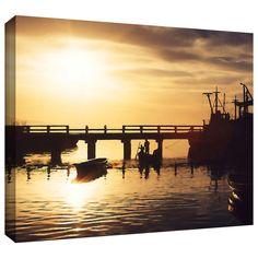 'Mazatlan Morning' by Dean Uhlinger Gallery-Wrapped Canvas Art