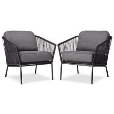 Target - Threshold Standish Patio Club Chair 2-Piece - $240