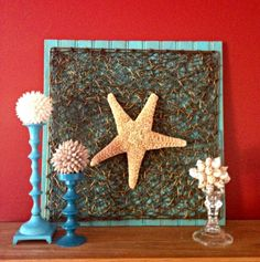 Second Chance to Dream: Beach Inspired Wall Art and Garland Tutorial
