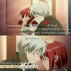 Anime quotes Animequotes Anime Love quotes Zen & s akagami no shirayukihime