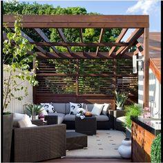 pergola / outdoor living room