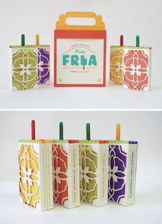 Arielle Trankle's Fruta Fria brand and packaging was designed to bring Mexico's beloved frozen fruit bars to American grocery isles and palates. Look out Popsicle!
