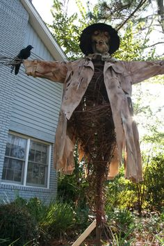 how to make a sleepy hollow scarecrow