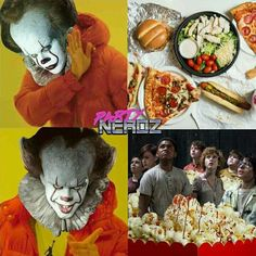 IT - I love it Fandom is dying but my hope will never die Scary Funny, Funny Horror, Creepy Cute, Funny Jokes, It Movie Cast, I Movie, Scary Movies, Horror Movies, Le Clown