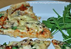 Fit piza z quinoi Bubble Tea, Food Inspiration, Quinoa, Pizza, Menu, Gluten Free, Healthy Recipes, Chicken, Fitness
