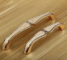 3.78 5 Glass Dresser Pulls Knobs Drawer Pulls by MINIHAPPYLV
