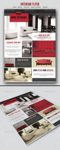 Interior design flyer                                                                                                                                                                                 Más
