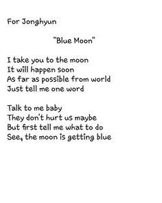 Poem for Jonghyun #SHINee #Jonghyun