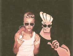 Hahaha I always thought Justin was starting to look like Johnny lingo hah so awesome!