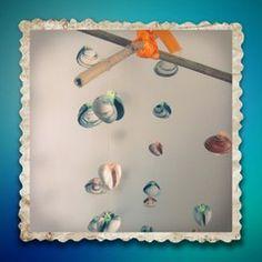 Windgong met schelpen ~ www.knutselboom.nl