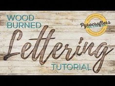 How to Wood Burn Letters by Pyrocrafters – Tik wood art Wood Burning Tips, Wood Burning Techniques, Wood Burning Crafts, Wood Burning Patterns, Wood Burning Projects, Wood Burning Stencils, Stencil Wood, Diy Wood Projects, Wood Crafts