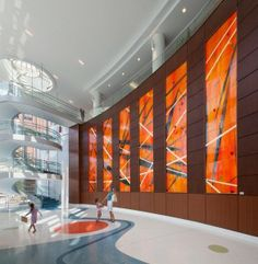 lobbies for children hospitals | The Lobby at Benjamin Russell Children's Hospital