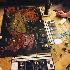 #gamenight with the hubster! Tonight's event is Risk: Game of Thrones, 2 person Dominion mode. #got #risk #husbands #gamer #memorialday And yes, he's also making a #nanoblock #squirtle... I'll start on #charmander eventually. #pokemon