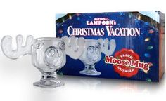 Officially Licensed National Lampoons Christmas Vacation Glass Moose Mug - SINGLE Mug $21.   You serious Clark?? : )