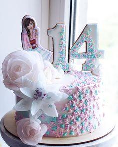 New Cupcakes Decoration Girly Girl Birthday Ideas Kid Cupcakes, Wedding Cakes With Cupcakes, Cupcake Cakes, Girly Cakes, Cute Cakes, Chocolate Pudding Desserts, Cake Chocolate, Number Birthday Cakes, Cake Birthday
