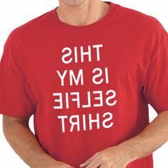 Father's Day This is my Selfie Shirt MENS T shirt by ebollo