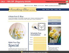 Sale! Wix Premade Template - Something Blue | HTML5 Website Design | Wix Template | Photography Website | Wix Website