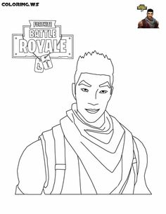 Fortnite Shock Trooper Coloring Pages Coloringpage Coloringpages Coloringbooks