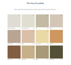 Dulux Nourish Palette 2021 Yearly, House Painting, Palette, Trends, Pallets, Beauty Trends