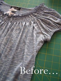 T-shirt refashion