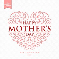 set happy mother039s day art background - Mother039s Day Greeting Card Messages