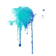 Watercolor Drips ❤ liked on Polyvore featuring fillers, splashes, backgrounds, effects and watercolor