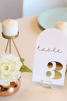 You don't want to miss these ADORABLE DIY Modern Foiled Table Numbers! Wedding Scene, Diy Wedding, Seating Cards, Heidi Swapp, Table Cards, Table Numbers, Just Giving, Wedding Trends, Getting Old