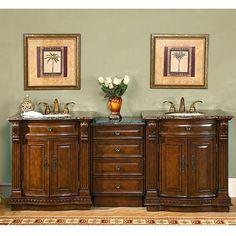 Bathroom Cabinets Double Sink french provincial bathroom vanities been looking for | marble top