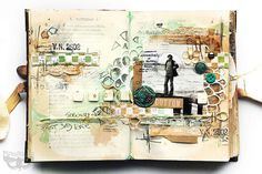 Odyssey journal - dad by finnabair, via Flickr