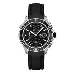 TAG HEUER AQUARACER AUTOMATIC CHRONOGRAPH 500M CAK2110.FT8019 - sureloj.es #reloj #watch