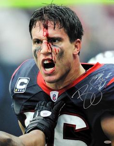 Love me a little bit of crazy- Brian Cushing-Houston Texans