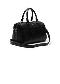 0f1f6963ef Bags & Handbags Collection   Women's Leather Goods   LACOSTE. Sac De GymSac  En Cuir