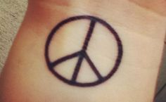 International Peace Sign Tattoos                                                                                                                                                                                 More