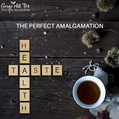 Tea is the perfect combination of health and taste! Make it your daily routine and relish the benefits. To get your tea, visit: http://www.greenhilltea.com/ #HealthyTea #TeaLove