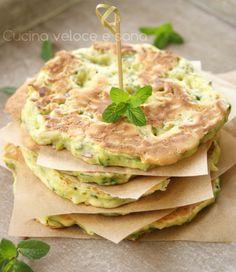 pancakes salati alle zucchine