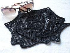 patrón de flor de crochet tutorial detallado por ThePoshCrochet