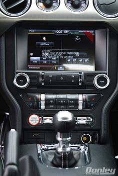 2015 Ford Mustang Ecoboost center stack