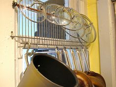 pot hanger rack - Google Search