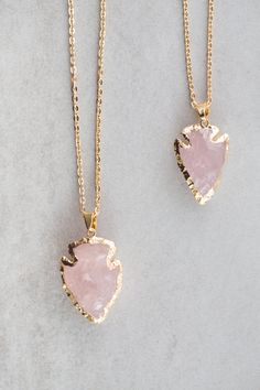 Lovoda - Arrow Spear Necklace | Pink, $18.00 (https://www.lovoda.com/arrow-spear-necklace-pink/)