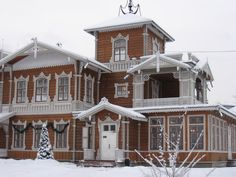 Irkutsk. Homesteads For Sukachyov