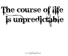 Under the Angelic-1's Halo: Life is Unpredictable...