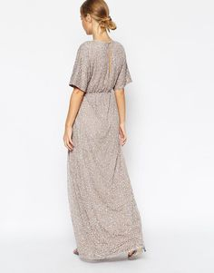 ASOS | ASOS Sequin Kimono Maxi Dress at ASOS