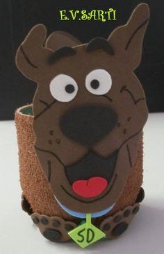 Porta-treco Scooby-Doo