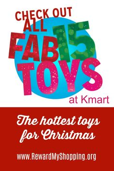 Kmart just released their 2017 Fab15 Toy List. Get all the details on the hottest toys of the year at Kmart & layaway for $1 down. Grab the deals thru 10/15 via @rewardmyshoppin #ad