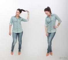 look do dia   ootd   dica de moda   inspira��o de moda   fashion   blog de moda   juliana goes   jeans   tie dye   como usar camisa jeans   ellus