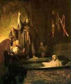'The Raising of Lazarus', Rembrandt van Rijn, 1630